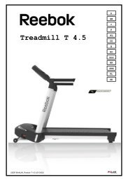 Z9 Treadmill Assembly Guide - Reebok Fitness