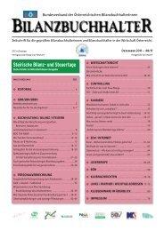 böb journal 48 - Bundesverband der Österreichischen ...