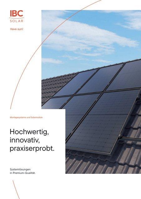 System-Lösungen in Premium-Qualität.