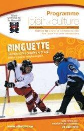 Programme Loisir et culture - automne 2010 - Ville de Saint-Bruno ...
