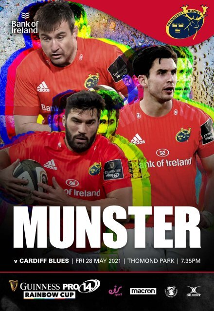 Munster Rugby v Cardiff Blues Match Programme