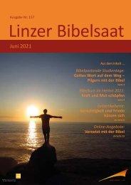 Linzer Bibelsaat 157 (Juni 2021)