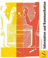Leseprobe: Julia Hintermann: Information und Kommunikation