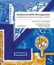 Leseprobe: Waibel/Käppeli: Betriebswirtschaft für Führungskräfte