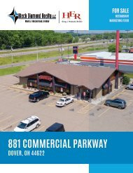 881 Commercial Parkway Marketing Flyer