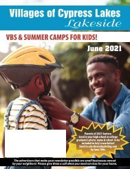 VCL Lakeside June 2021
