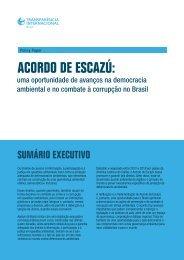 Acordo de Escazú: Uma oportunidade de avanços na democracia ambiental e no combate à corrupção no Brasil
