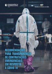 Recomendações para Transparência de Contratações Emergenciais em Resposta à Covid-19
