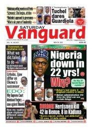 29052021 - Nigeria down in 22 yrs Why?