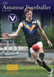 VAFA ROUND 15_Col.indd - Victorian Amateur Football Association