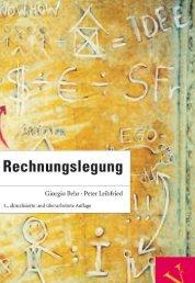 Leseprobe: Behr/Leibfried: Rechnungslegung