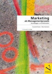 Leseprobe: Bruhn/Michalski: Marketing als Managementprozess Grundlagen und Fallstudien