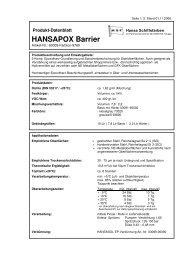 HANSAPOX Barrier - Waage