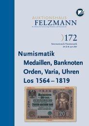 Auktion172-07-Numismatik_Geldscheine-Orden-Varia