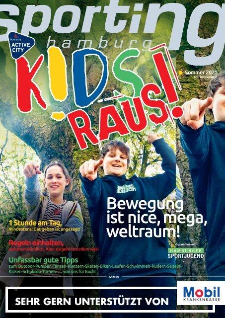 sporting hamburg Extraheft K!DS RAUS!