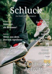 Schluck - Nr. 2 Outdoor & Activity
