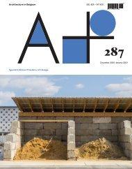 A+287 Article: Building bridges by Hanne Mangelschots and Serafina Van Godtsenhoven