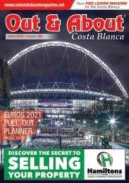 Out and About Costa Blanca Magazine - June 2021 Issue -188