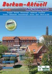 Juni 2021 Borkum-Aktuell - Das Inselmagazin