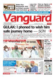 01062021 - GULAK: I phoned to wish him safe journey home — SON