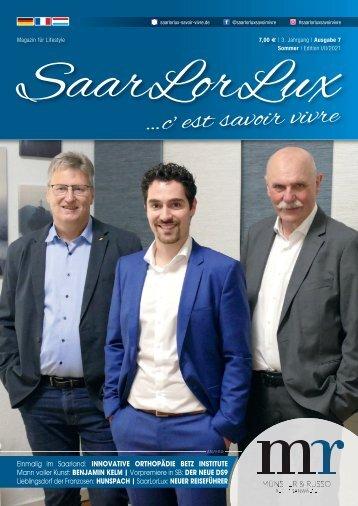 SaarLorLux ...c'est savoir vivre Frühjahr/Sommer Edition 2021
