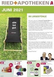 Angebote der RIED + APOTHEKEN, Ulm & Neu-Ulm - Juni 2021