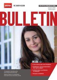 MSWA Bulletin Magazine Autumn 2021