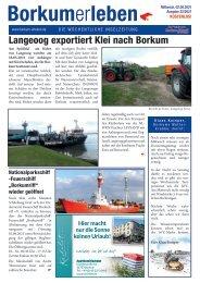 02.06.2021 / Borkumerleben - Die wöchentliche Inselzeitung