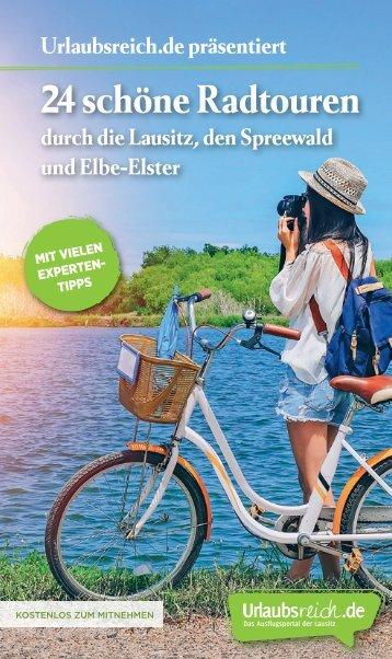 Radbroschüre: 24 schöne Radtouren durch die Lausitz, den Spreewald und Elbe-Elster