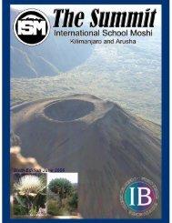 June 2006 (9.4Mb) - International School Moshi