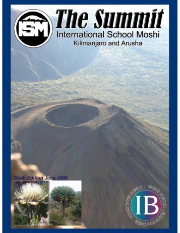 June 2006 (9.4Mb) - International School Moshi