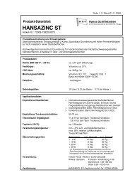 HANSAZINC ST - Waage