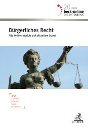 beck-online Bürgerliches Recht