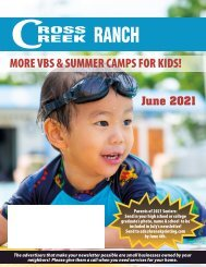 Cross Creek Ranch June 2021