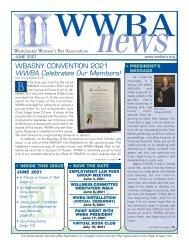 WWBA June 2021 Newsletter