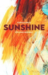 Sunshine- Katathj Copley