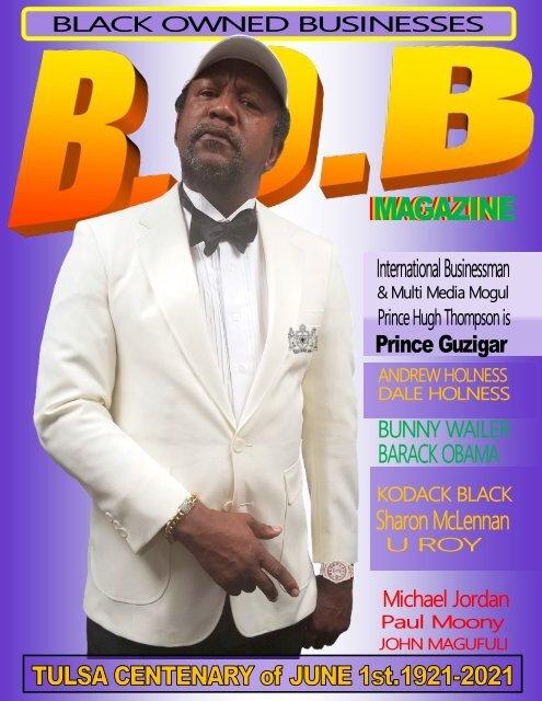 B.O.B. JUNE 2021 PRINCE GUZIGAR
