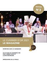 Le Cuisinier d'Or 2021 LE MAGAZINE N°2