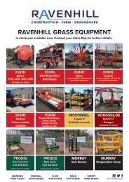 Ravenhill Monthly Featured Machines A4 June 2021
