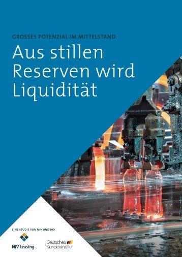Aus stillen Reserven wird Liquidität