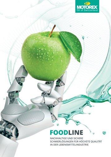 FOOD LINE Brochure DE