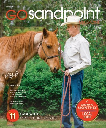 June 2021 Go Sandpoint Magazine
