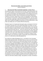 Moscheebaukonflikte und der Beitrag des Rechts - Deutsche Islam ...