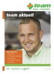 Team aktuell - team AG