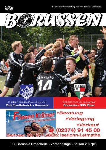 F.C. Borussia Dröschede - Verbandsliga - Saison 2007|08
