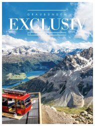 Graubünden Exclusiv – Sommer 2021