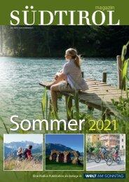 Südtirol Magazin Sommer 2021 - WamS