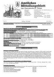 Nr. 52 Auflage 1100 Stück 30.12.2010 - St. Peter