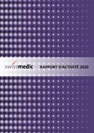 Swissmedic RAPPORT D'ACTIVITÉ 2020