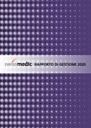 Swissmedic Rapporto di gestione 2020